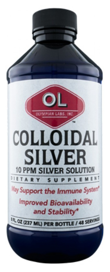 Colloidal Silver 8 fl oz (236 ml) by Olympian Labs