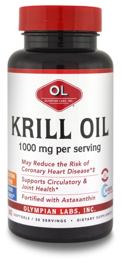 Krill Oil 1,000 mg 60 sgels by Olympian Labs