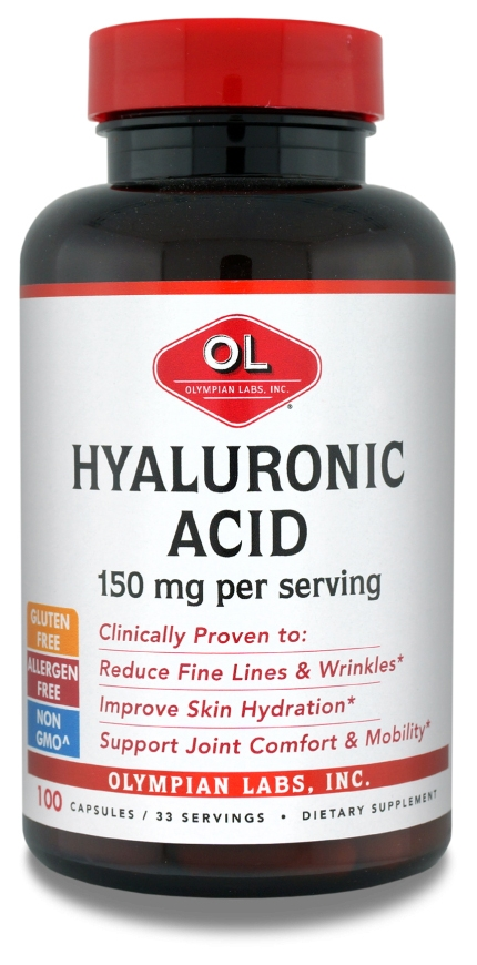 Hyaluronic Acid 1500 mg 100 caps by Olympian Labs