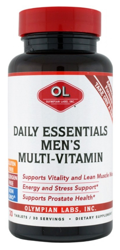 Daily Essentials Men's Formula 30 tabs by Olympian Labs