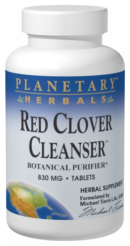Red Clover Cleanser 830 mg 150 tabs by Planetary Herbals