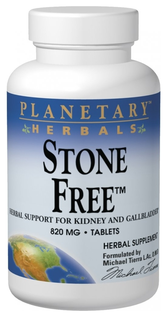 Stone Free 820 mg 180 tabs by Planetary Herbals