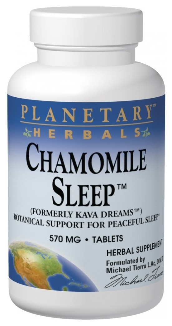 Chamomile Sleep 570 mg 120 tabs by Planetary Herbals