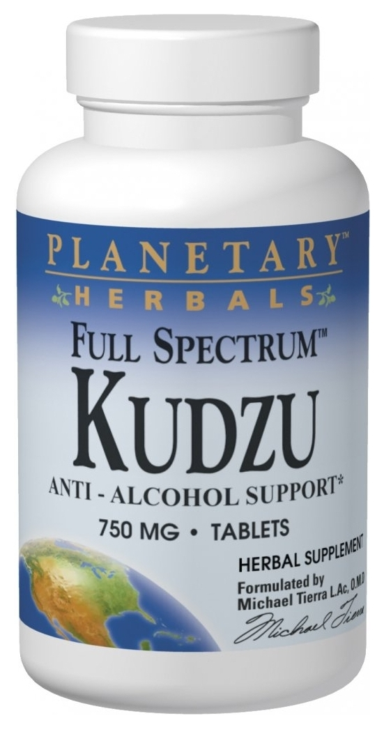 Kudzu Full Spectrum 750 mg 120 tabs by Planetary Herbals