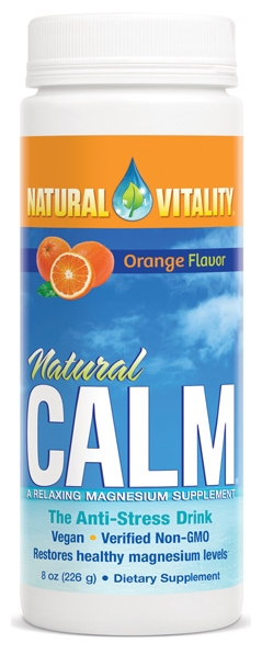 Natural Calm Orange 8 oz (226 g) by Natural Vitality