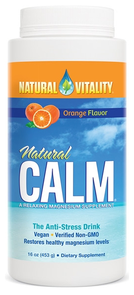 Natural Calm Orange 16 oz (453 g) by Natural Vitality