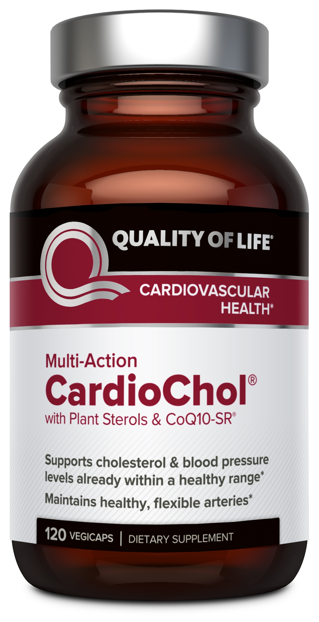 CardioChol 120 Vegicaps by Quality of Life Labs