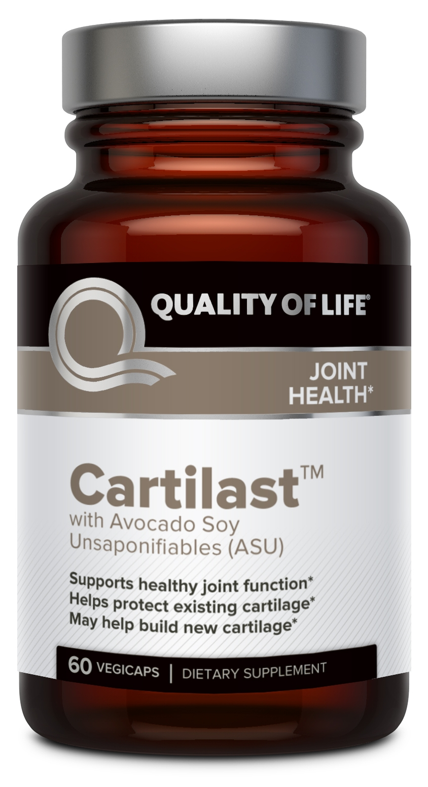 Cartilast 60 Vegicaps by Quality of Life Labs