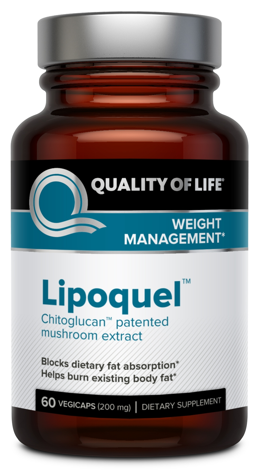 Lipoquel 200 mg 60 Vegicaps by Quality of Life Labs
