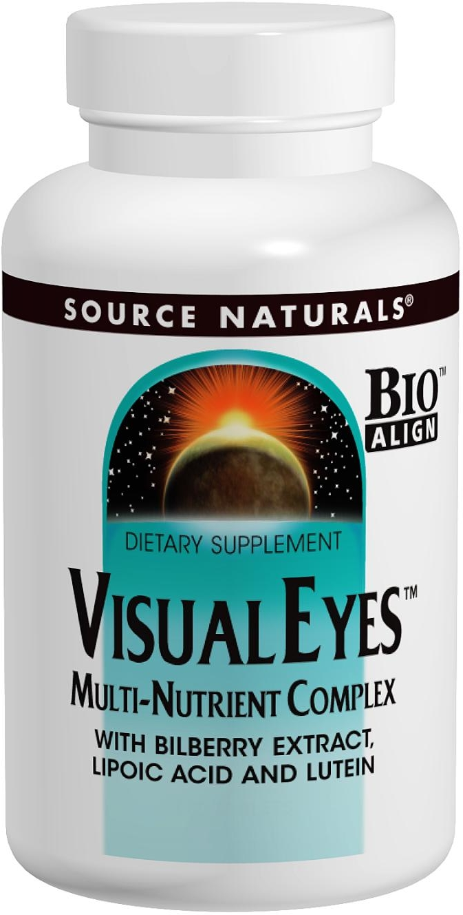 Visual Eyes 120 tabs by Source Naturals