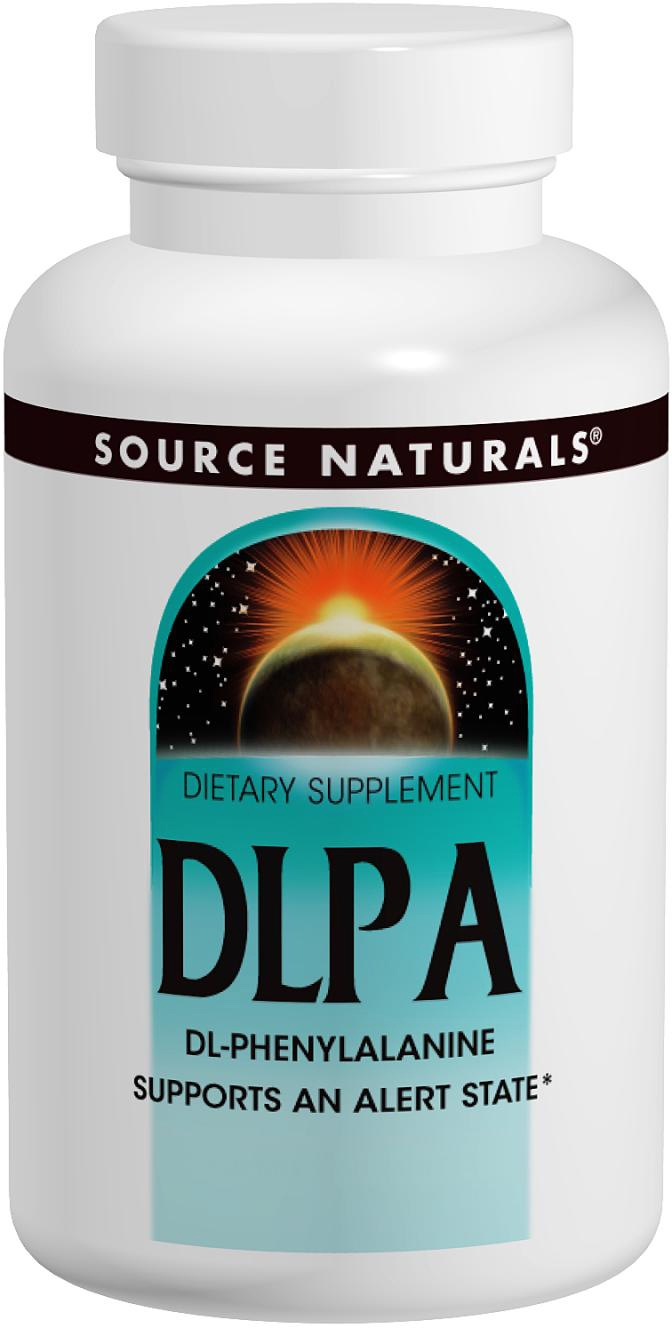 DLPA 750 mg 60 tabs by Source Naturals