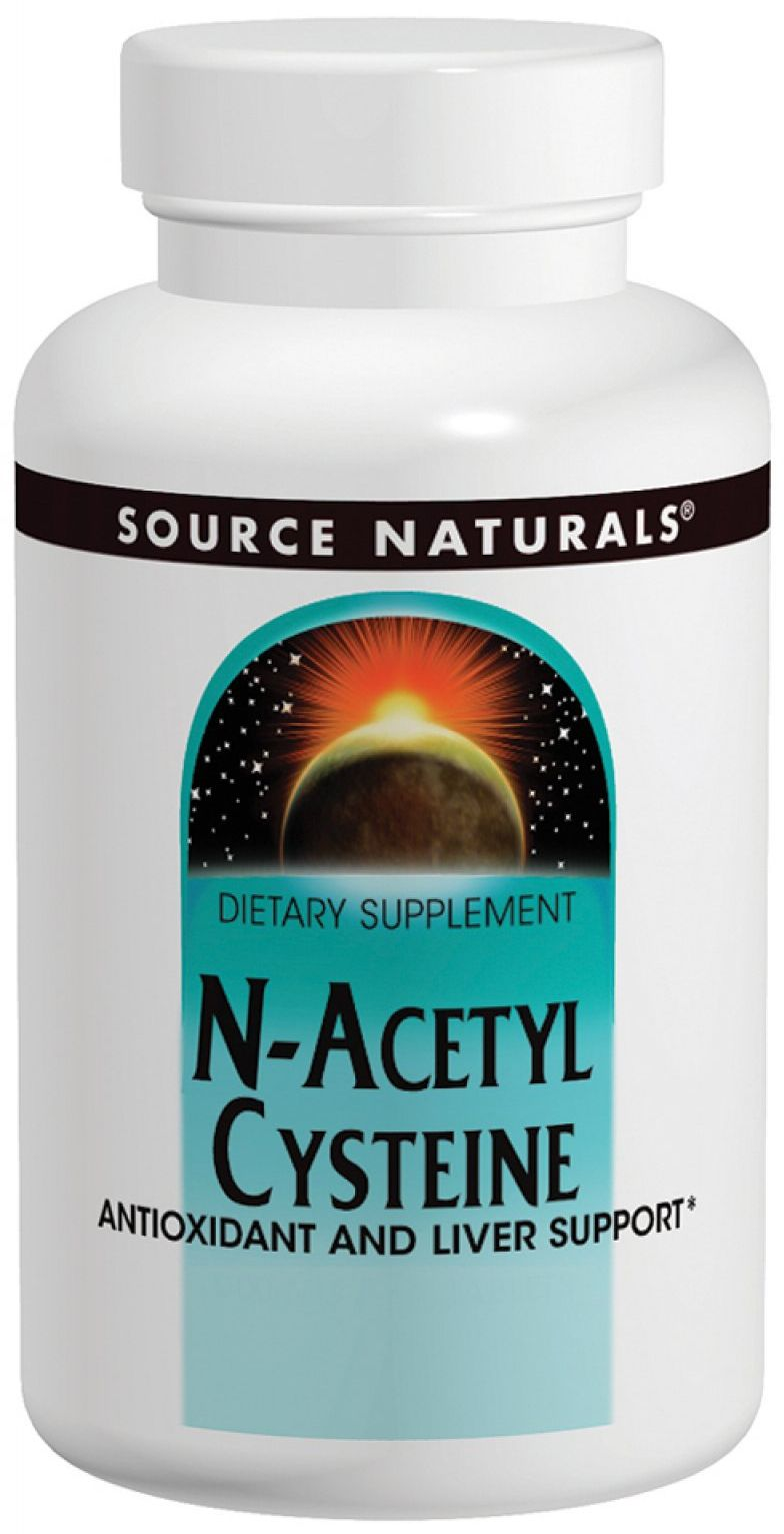N-Acetyl Cysteine 1000 mg 60 tabs by Source Naturals