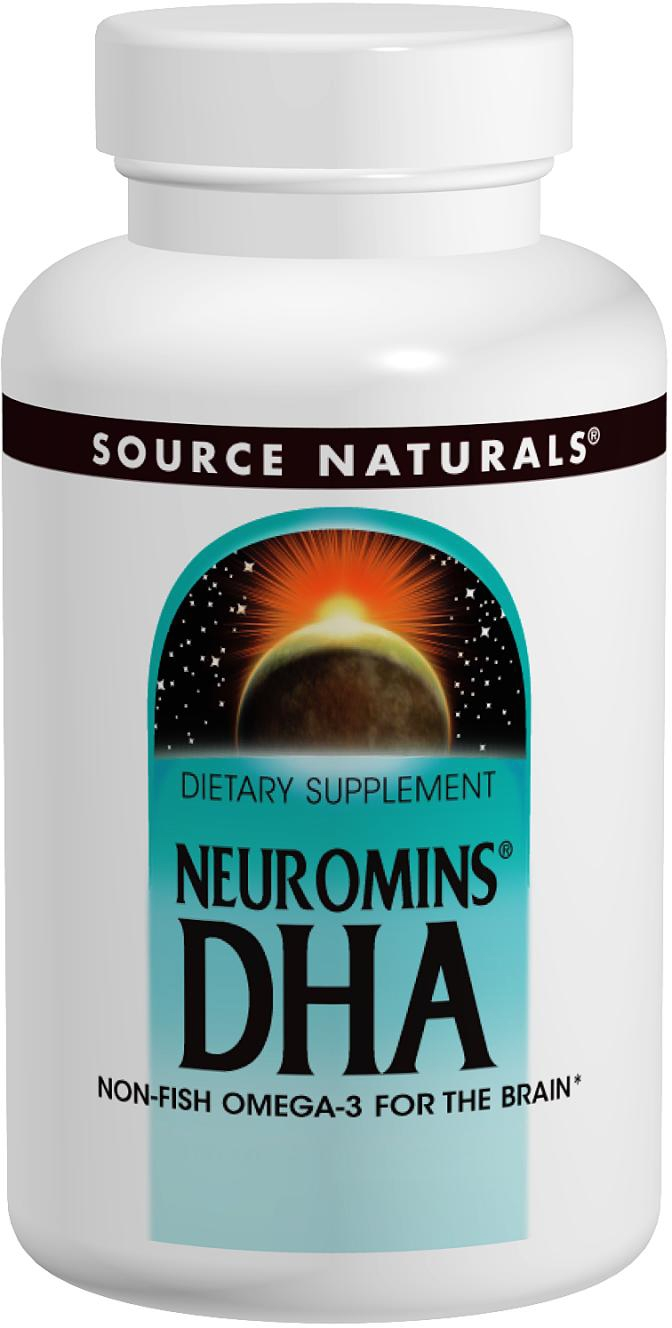Neuromins DHA 100 mg 60 sgels by Source Naturals