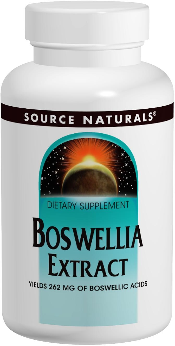 Boswellia Extract 100 tabs by Source Naturals