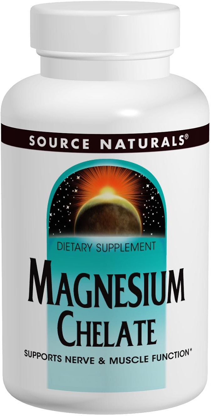 Magnesium Chelate 250 tabs by Source Naturals