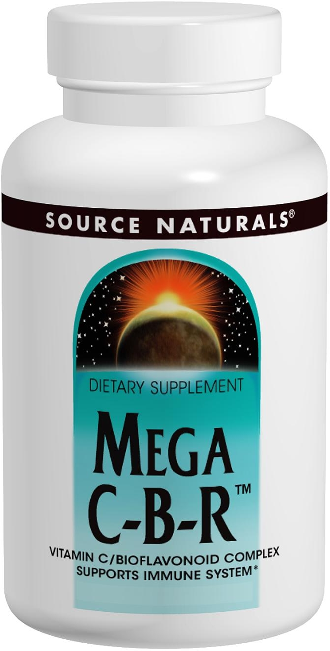 Mega C-B-R 250 tabs by Source Naturals