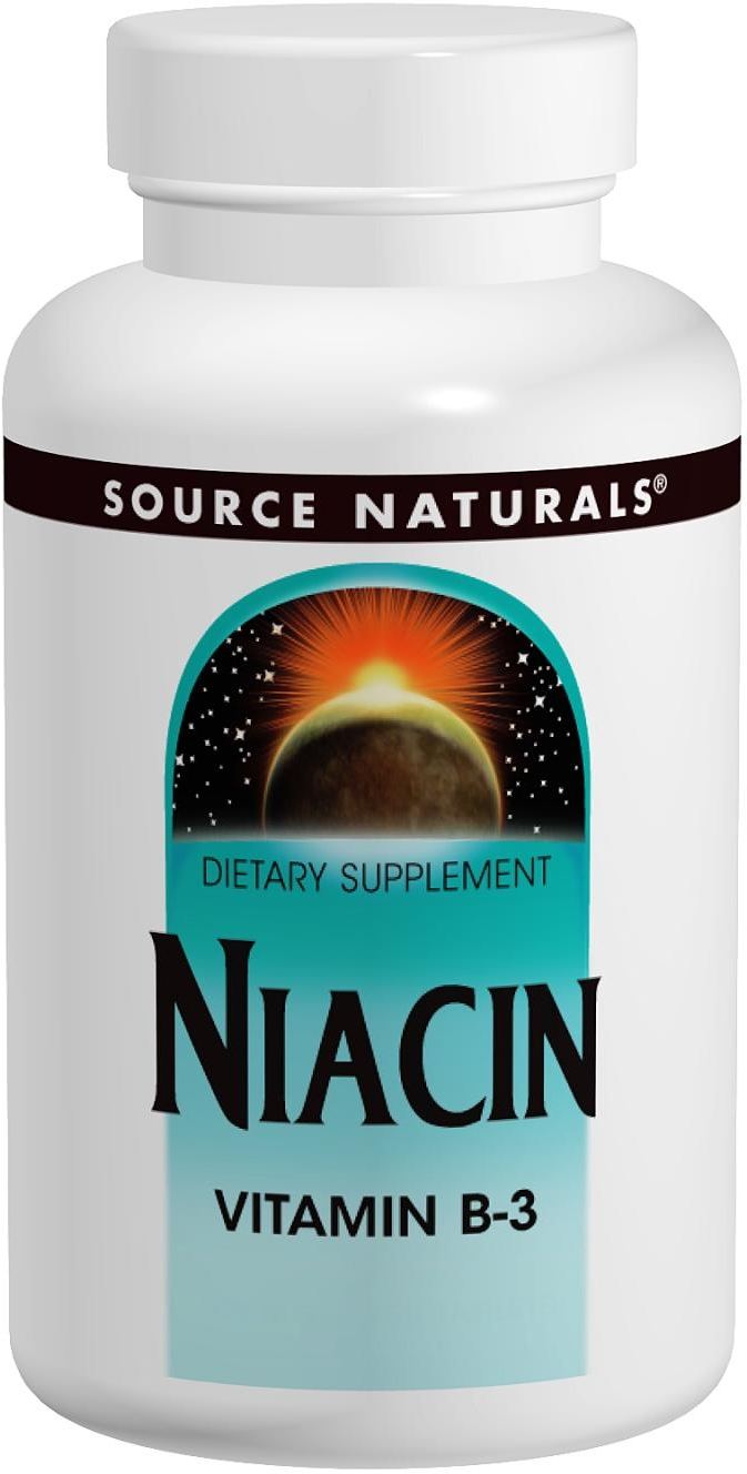 Niacin 100 mg 250 tabs by Source Naturals