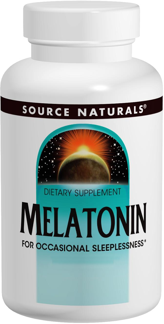 Melatonin 5 mg 120 tabs by Source Naturals