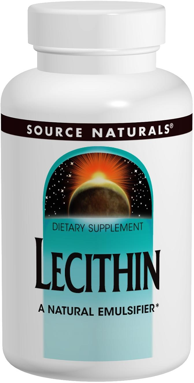 Lecithin 1200 mg 200 sgels by Source Naturals
