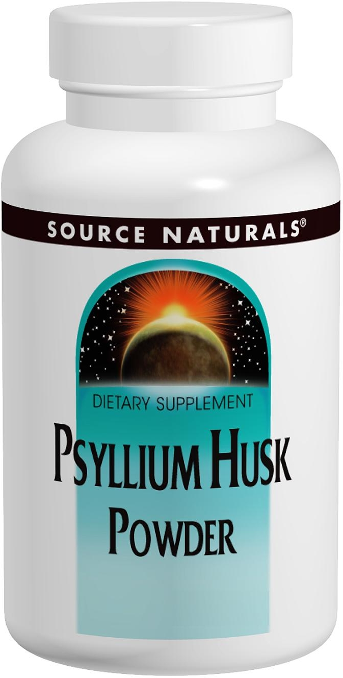 Psyllium Husk Powder 12 oz by Source Naturals
