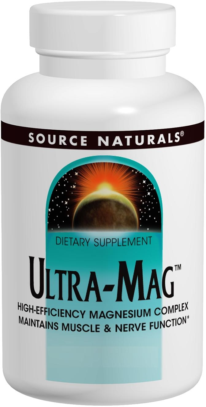 Ultra-Mag 120 tabs by Source Naturals