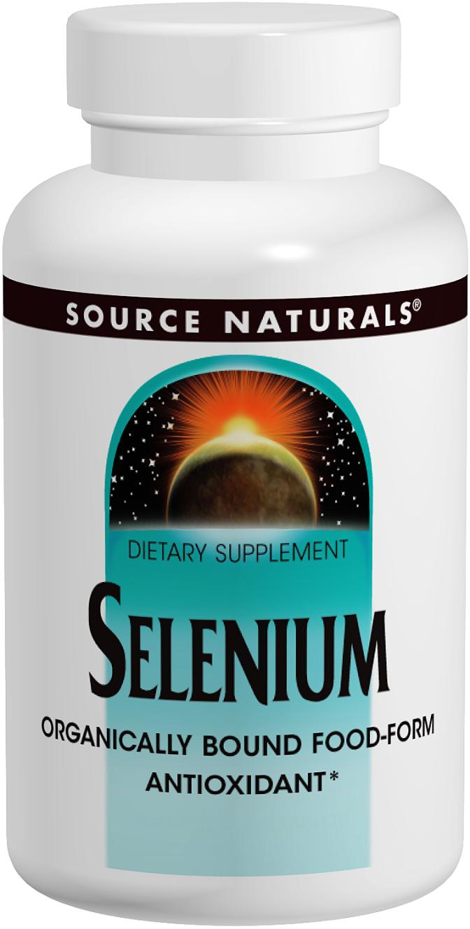 Selenium 200 mcg 120 tabs by Source Naturals