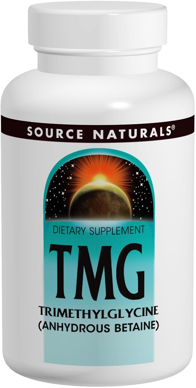 TMG 750 mg 120 tabs by Source Naturals
