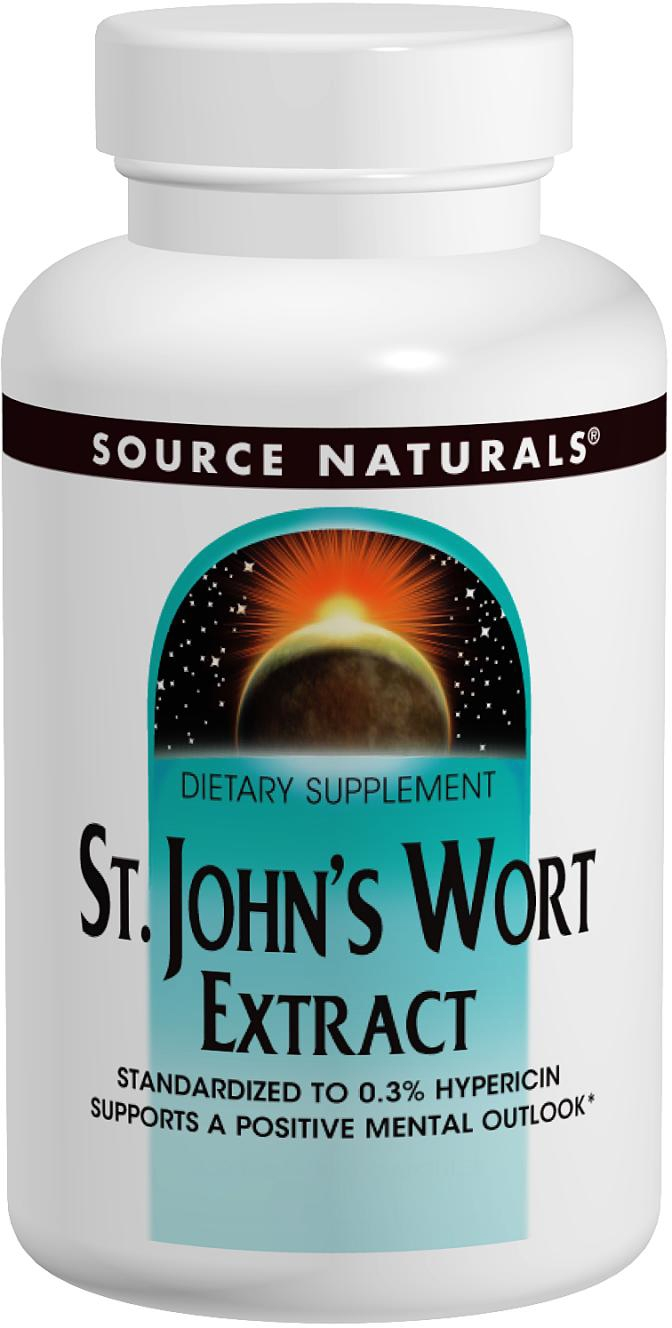 St. Johns Wort Extract 300 mg 240 caps by Source Naturals