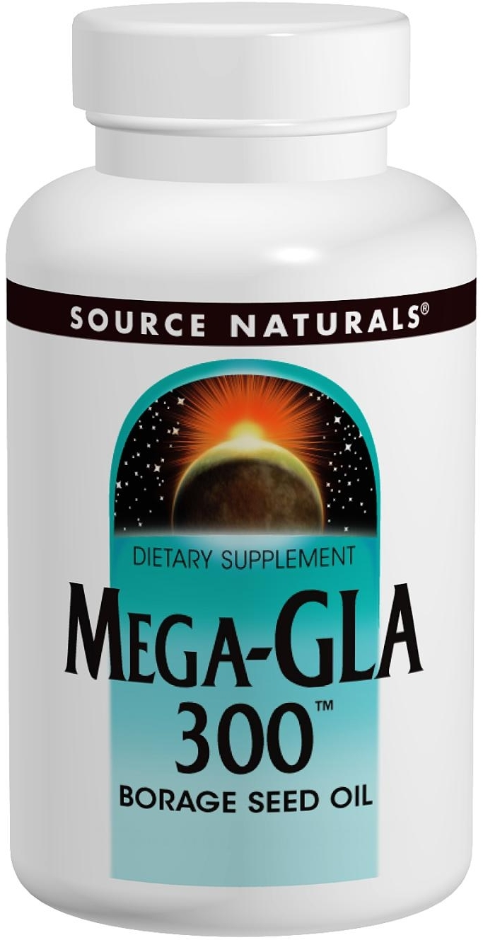 Mega-GLA 300 60 sgels by Source Naturals