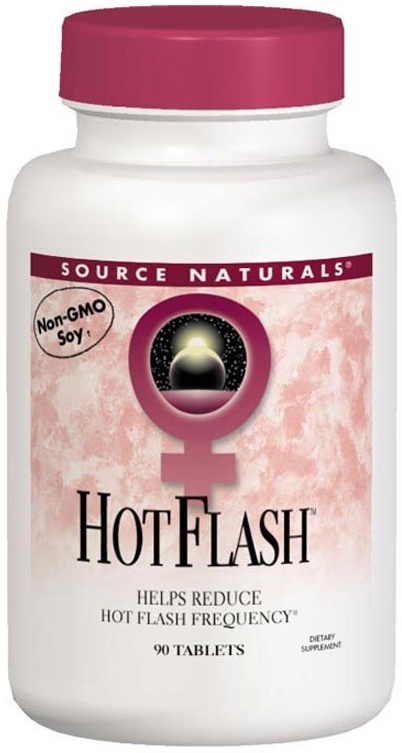 Hot Flash 90 tabs by Source Naturals