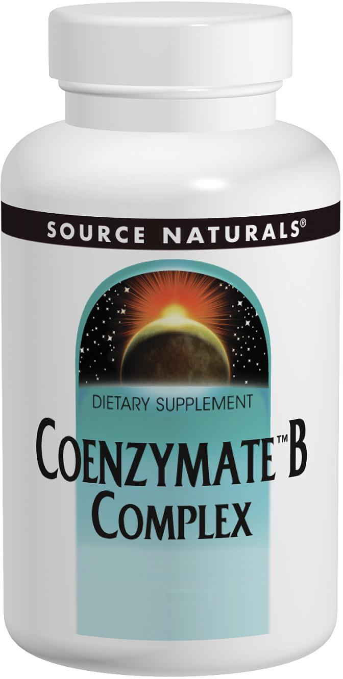 Coenzymate B Complex 60 tabs by Source Naturals