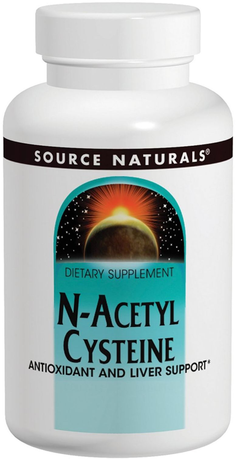 N-Acetyl Cysteine 600 mg 120 tabs by Source Naturals
