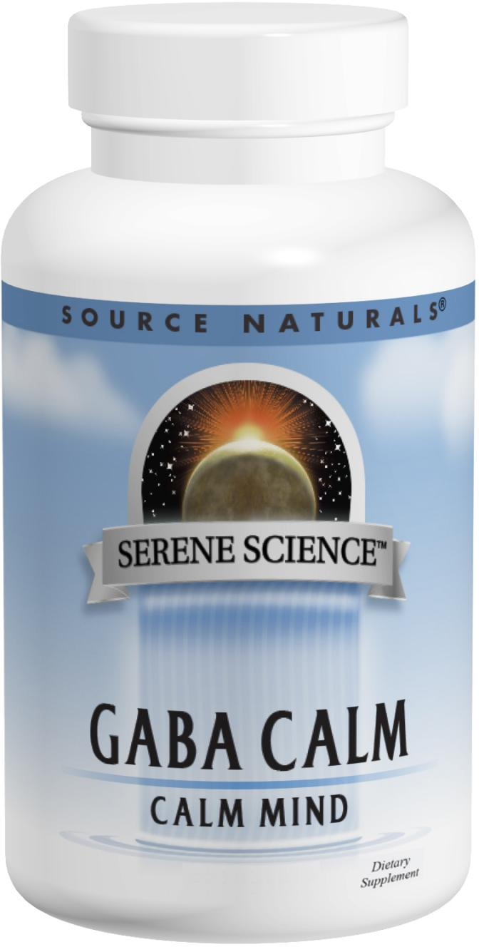 GABA Calm 60 tabs by Source Naturals