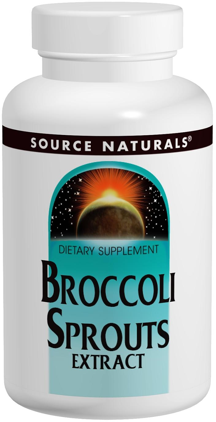 Broccoli Sprouts 60 tabs by Source Naturals