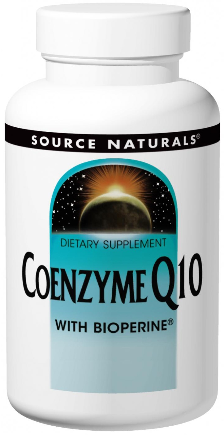 Coenzyme Q10 with Bioperine 100 mg 90 sgels by Source Naturals