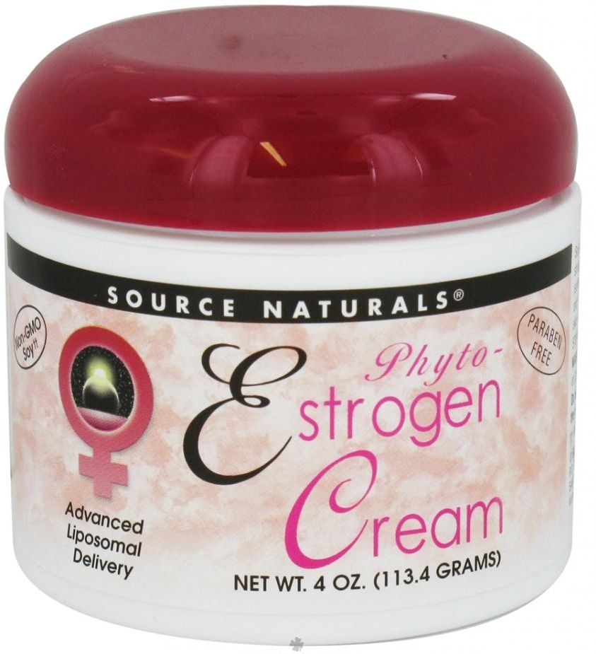 Phyto-Estrogen Cream 4 oz by Source Naturals