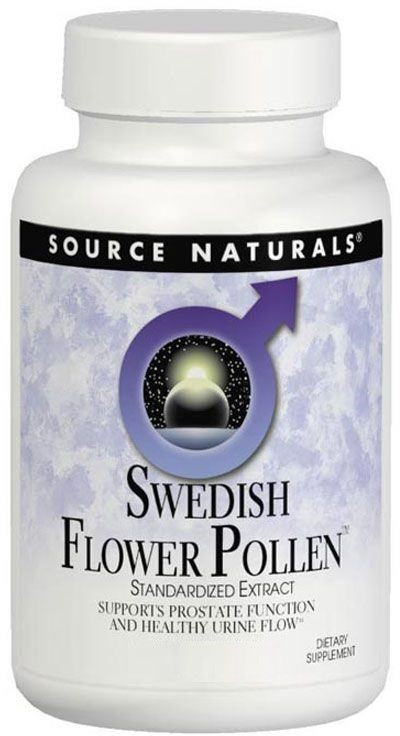 Swedish Flower Pollen 90 tabs by Source Naturals