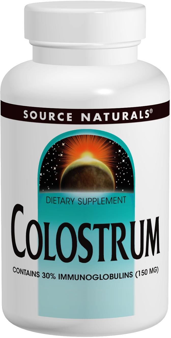 Colostrum 500 mg 120 caps by Source Naturals