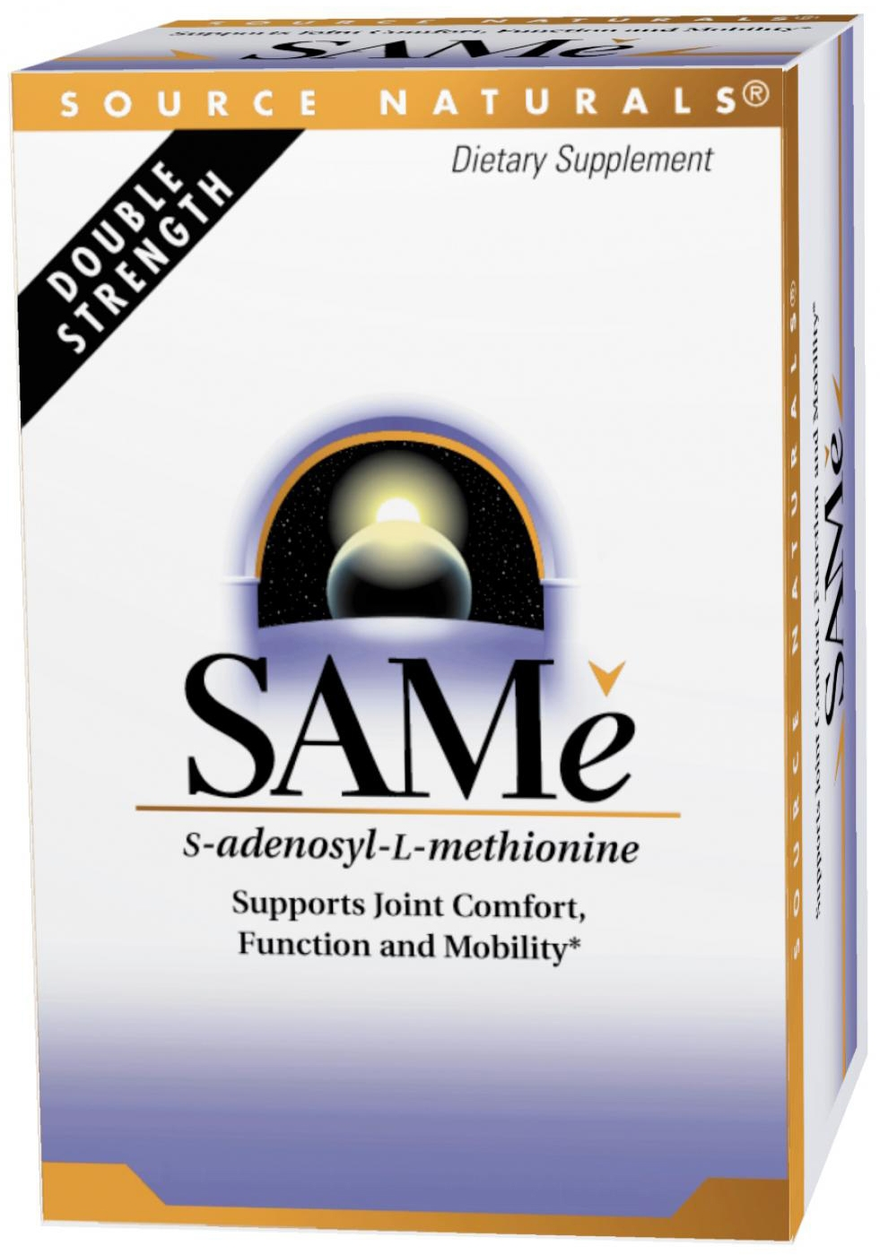 SAMe 200 mg 60 Enteric Coated Tablets by Source Naturals