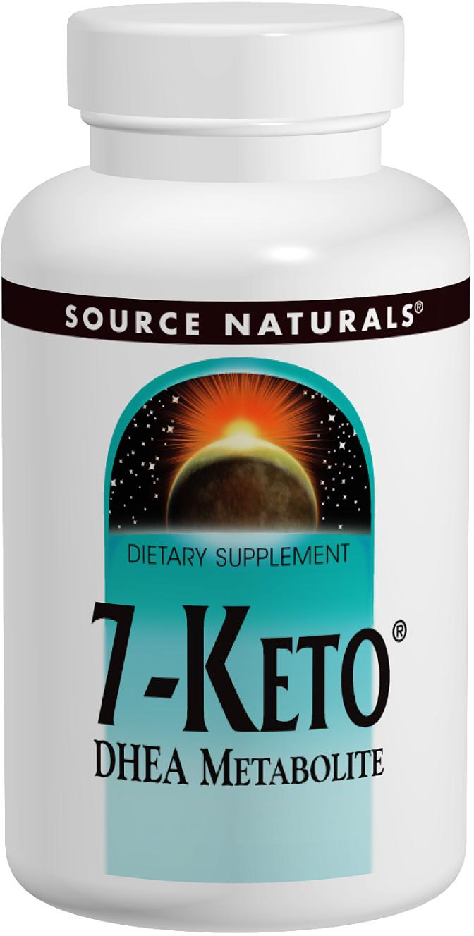 7-Keto DHEA Metabolite 50 mg 60 tabs by Source Naturals