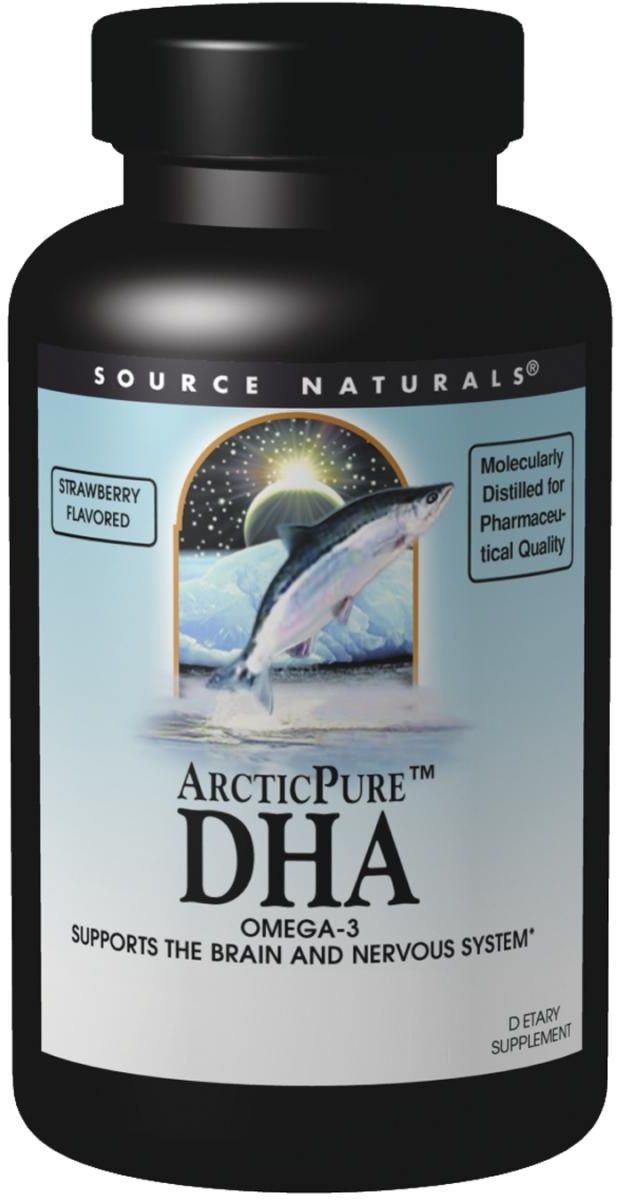 ArcticPure DHA 275 mg 120 sgels by Source Naturals