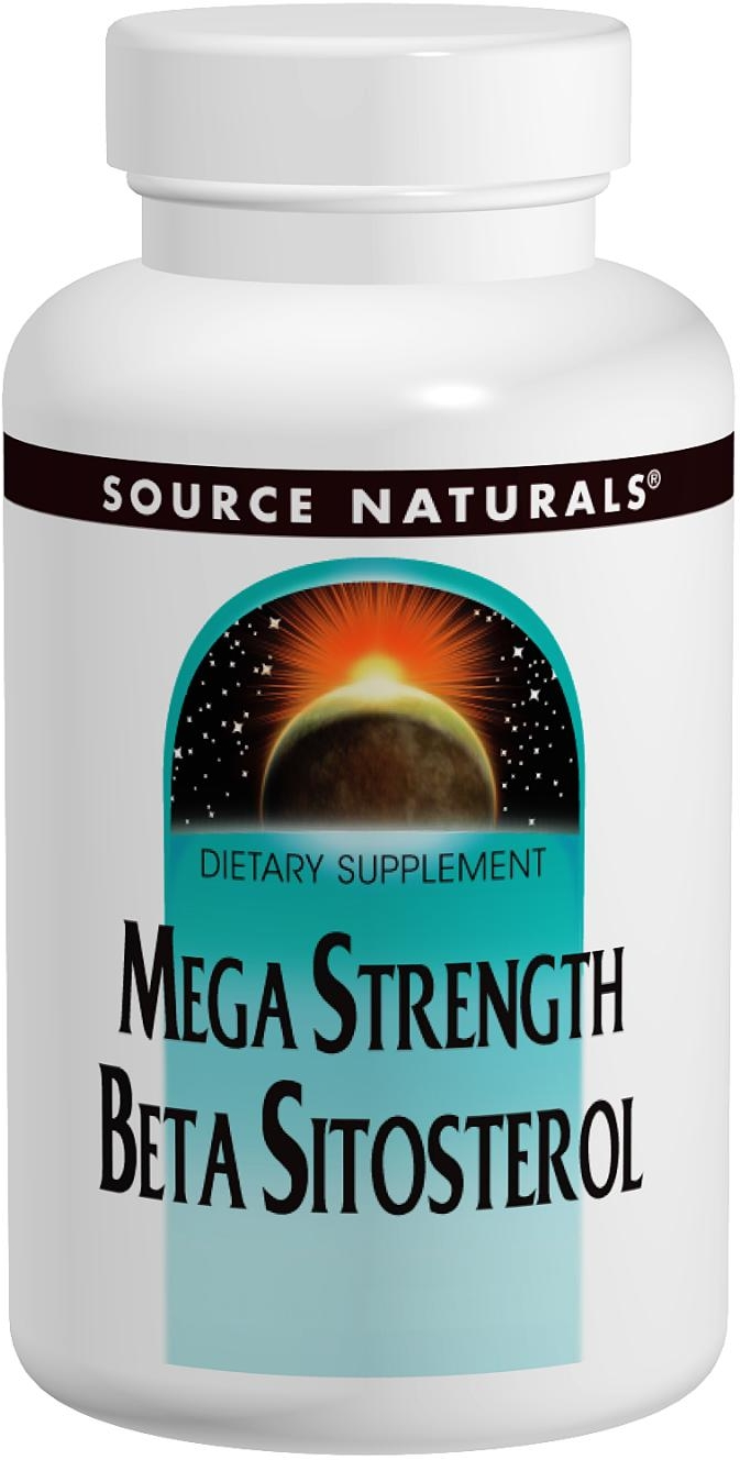Beta Sitosterol Mega Strength 375 mg 120 tabs by Source Naturals