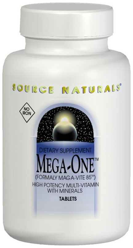 Mega-One Multiple 180 tabs by Source Naturals