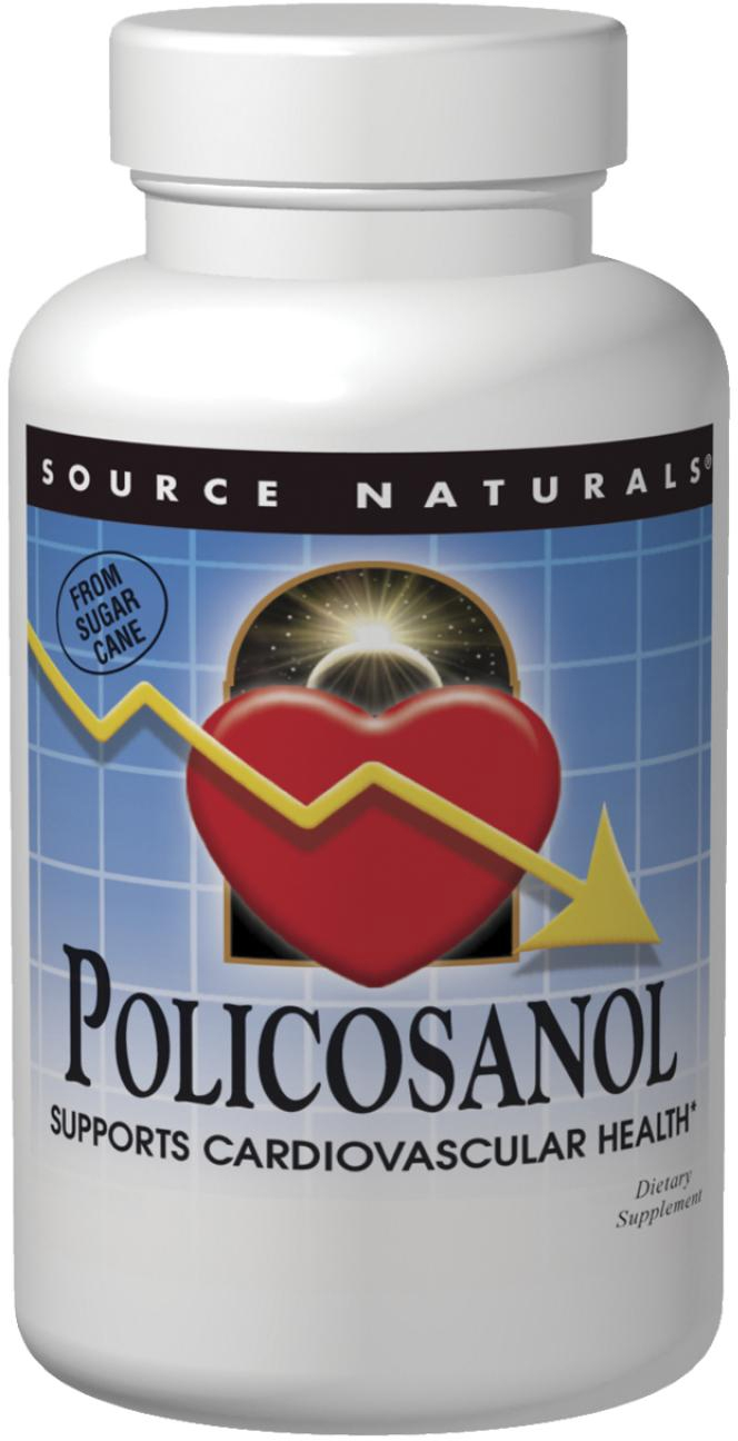 Policosanol 10 mg 120 tabs by Source Naturals