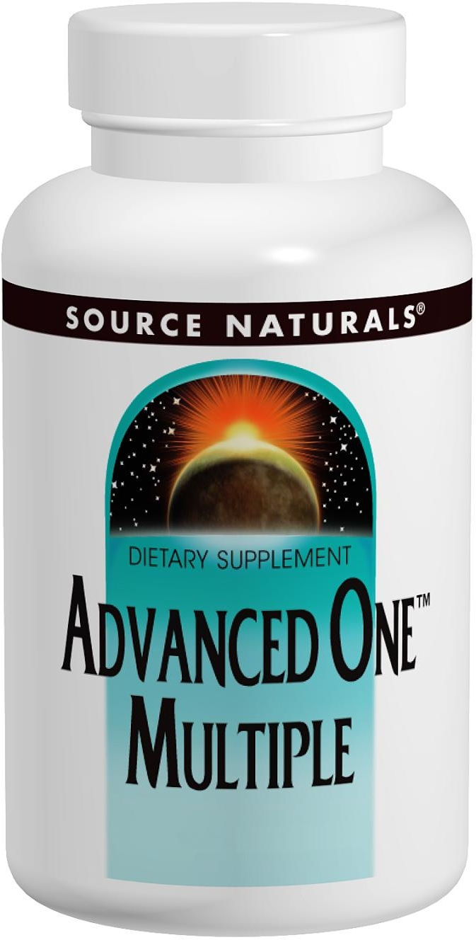 Advanced One Multiple 60 tabs by Source Naturals