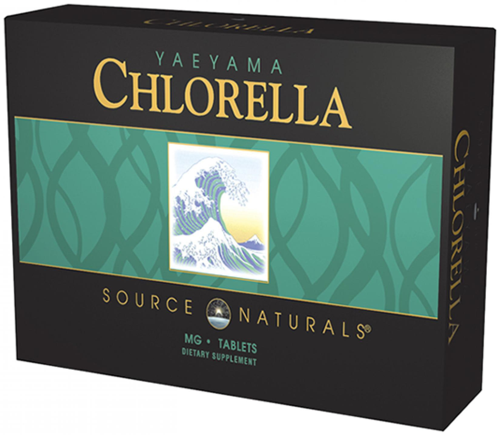 Yaeyama Chlorella Powder 8 oz (226.8 g) by Source Naturals