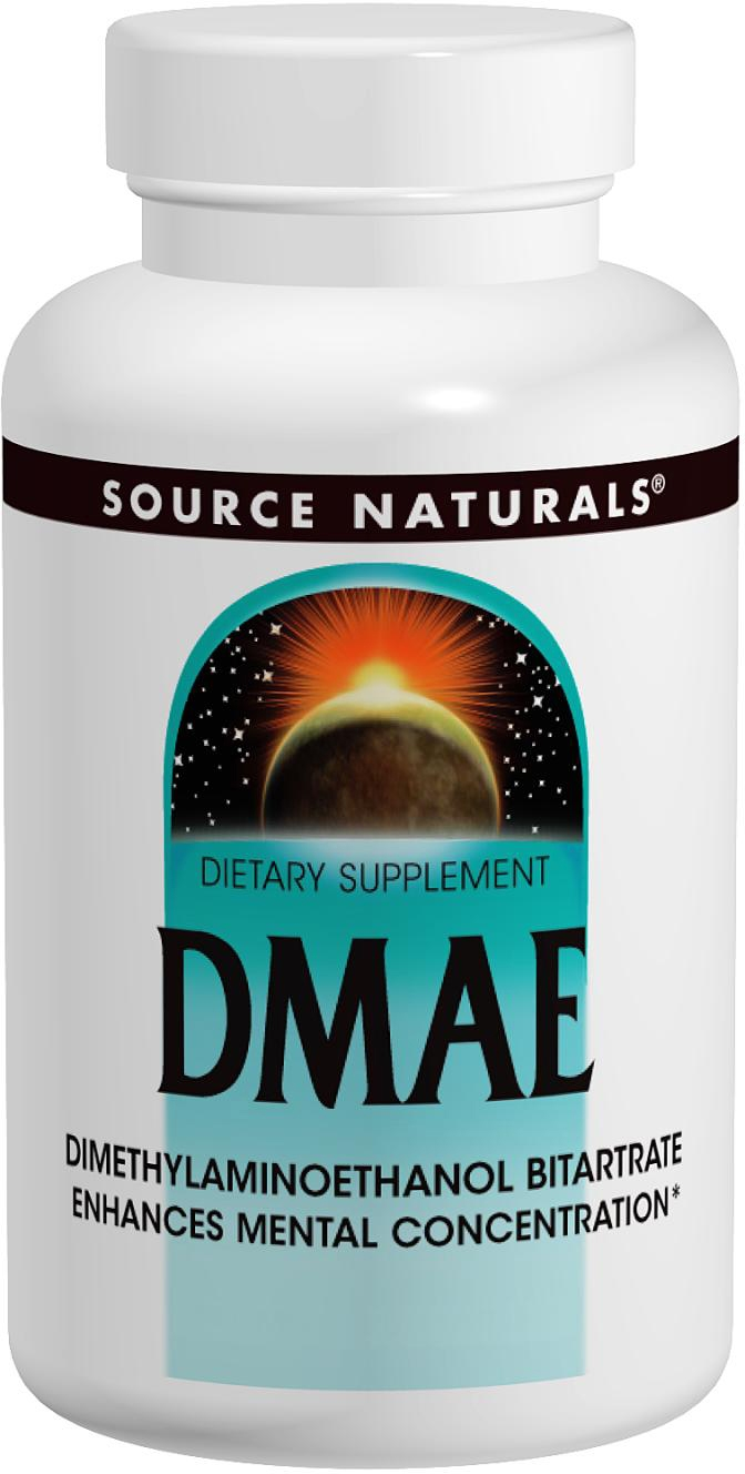 DMAE 351 mg 200 caps by Source Naturals