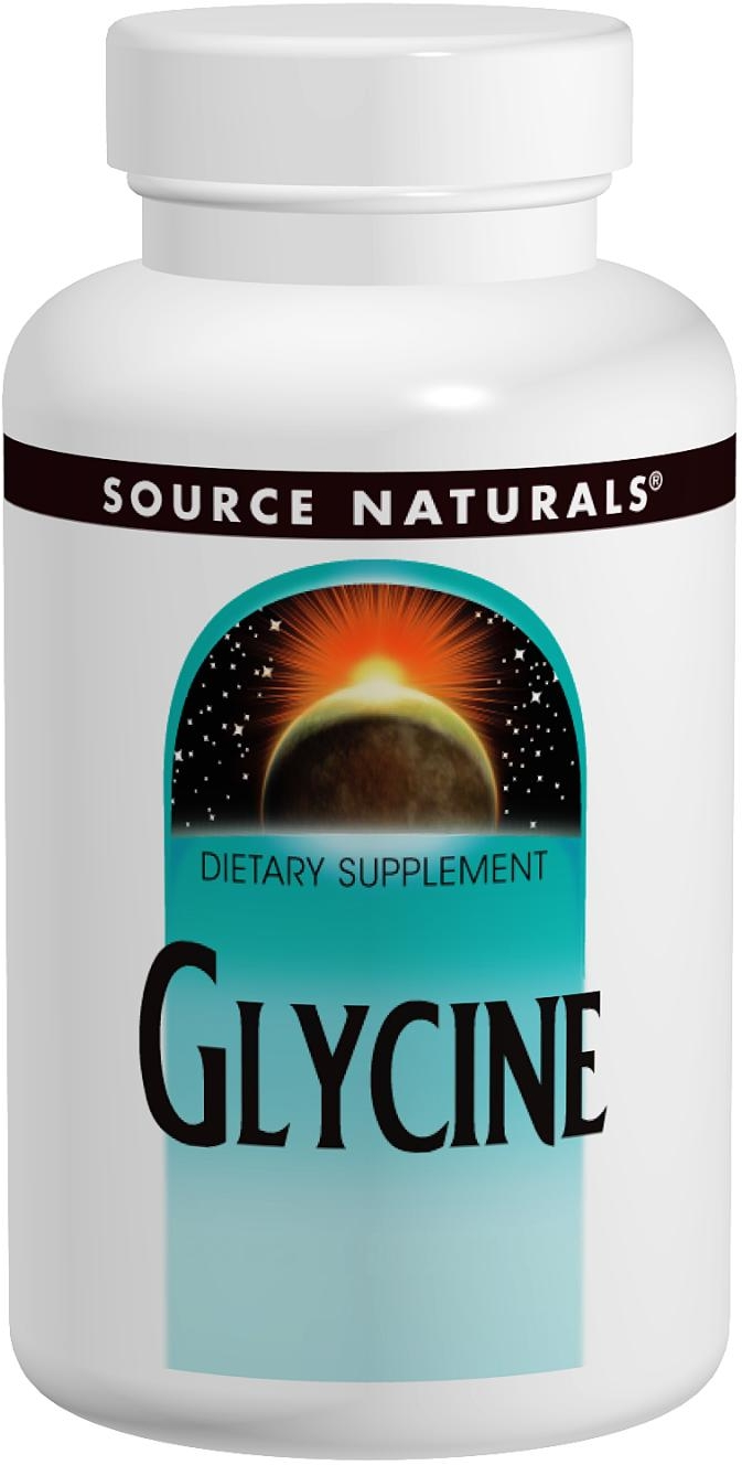 Glycine 500 mg 200 caps by Source Naturals