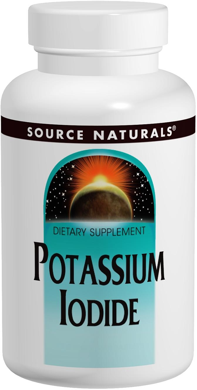 Potassium Iodide 32.5 mg 120 tabs by Source Naturals