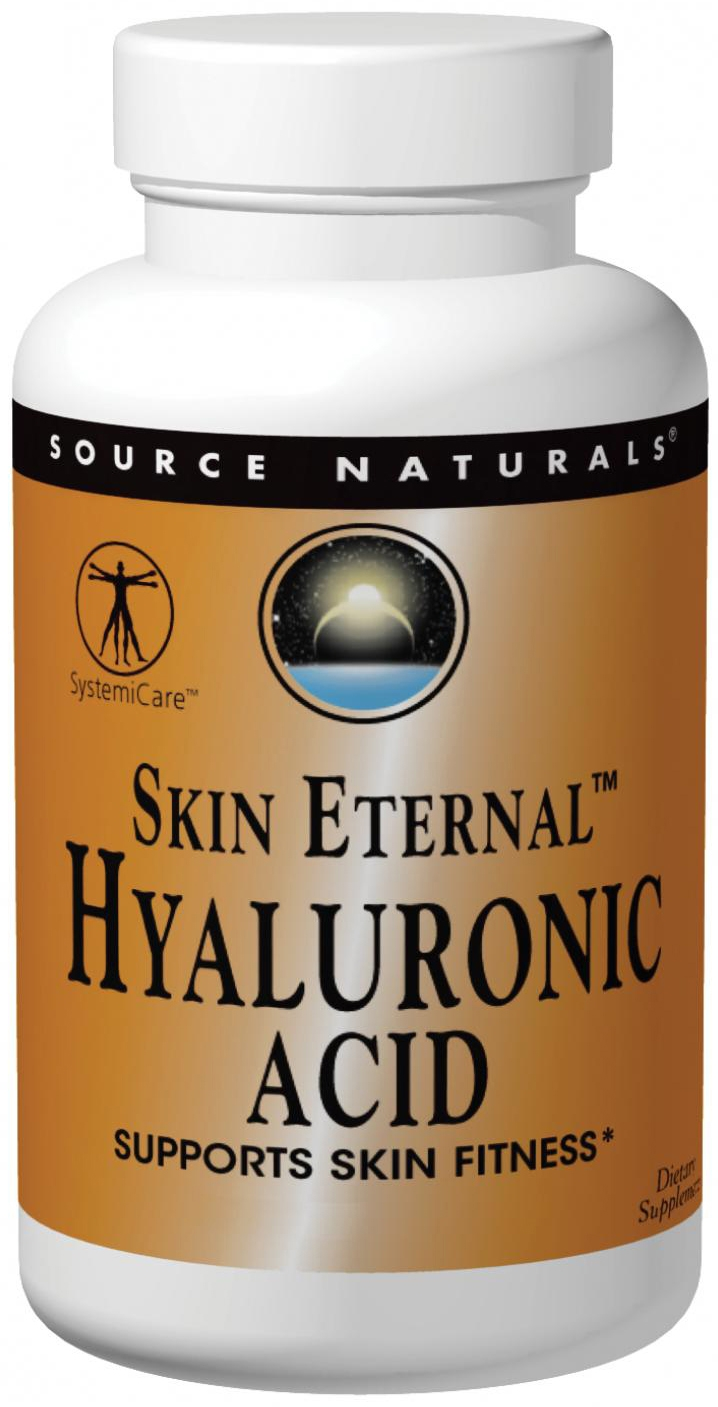 Skin Eternal Hyaluronic Acid 60 tabs by Source Naturals